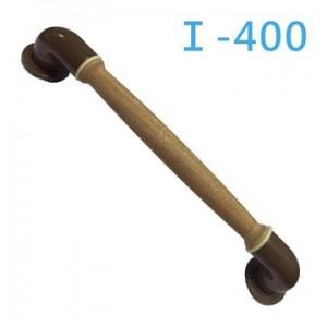 【富樂小舖】ABS彎管天然木I-400弧形扶手